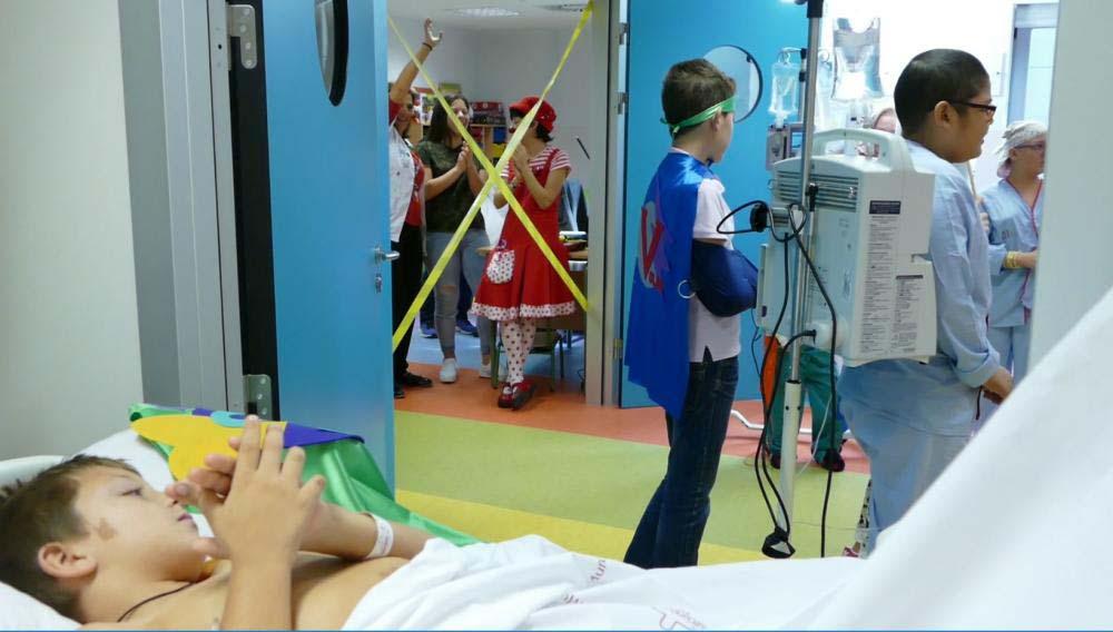 Mazda Comunicación Audiovisual Mazza Comunicación Malas pulgas Hospital Virgen de la Arrixaca Murcia