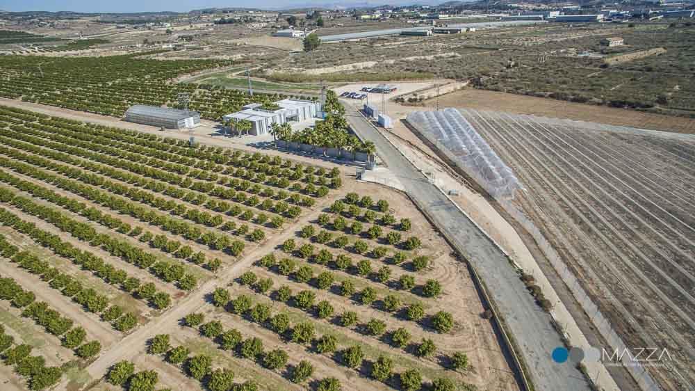 Fotografía aérea video industrial empresas audiovisuales Murcia Mazza Comunicacion